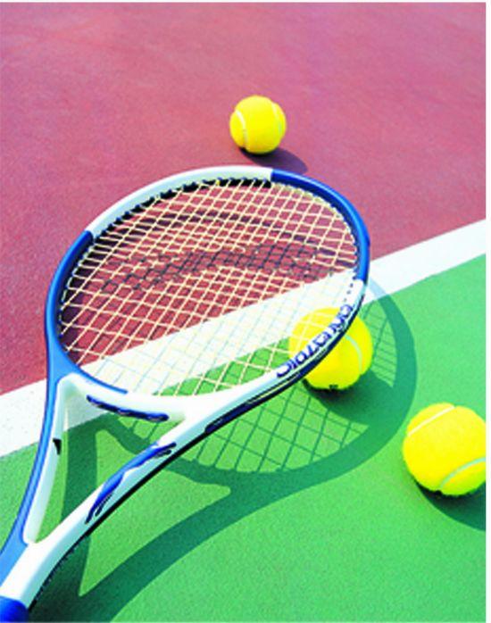 手绘网球pop海报